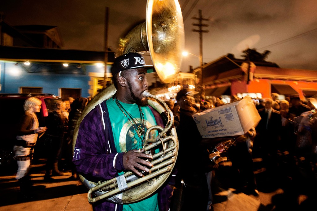 USA, Amerika, United States of America, Louisiana, New Orleans, French Quarter, Marigny,  Frenchman Street, Nightlife, Musik, Brass Band, Tanz, Samstag Nacht,