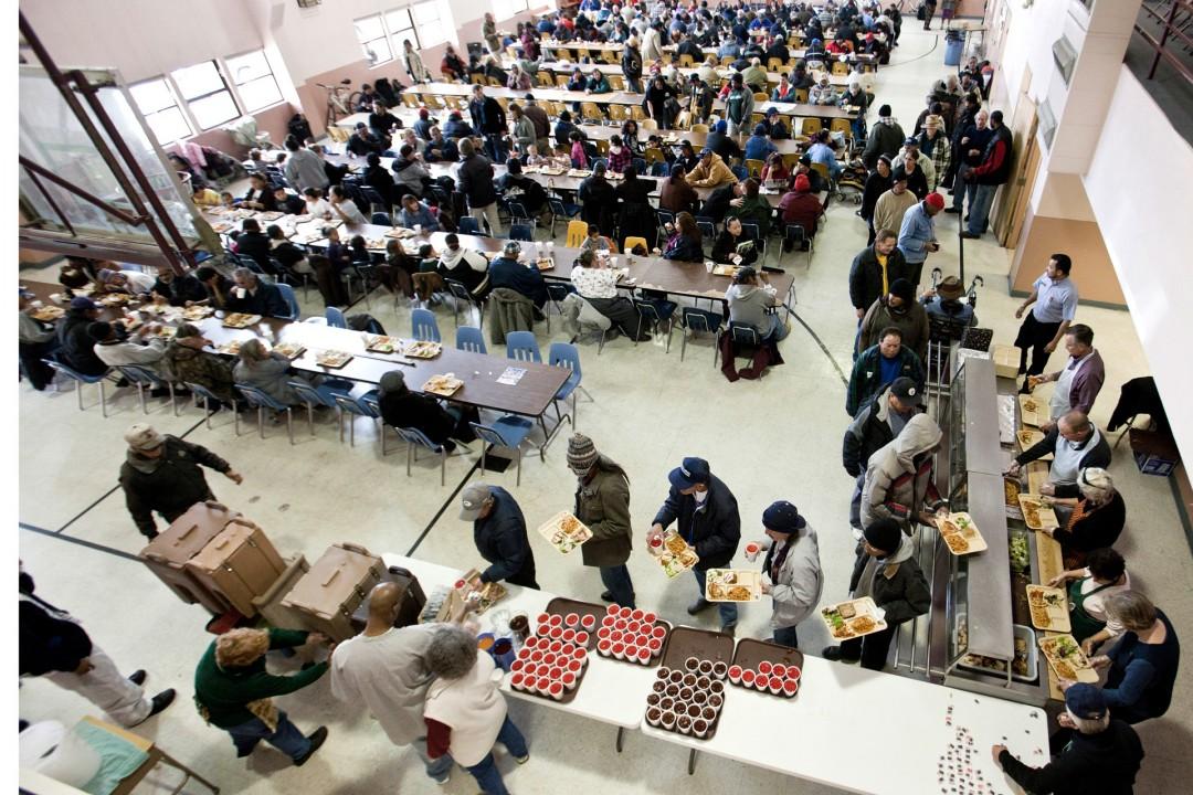 USA, Vereinigte Staaten von Amerika, United States of America, New Mexico, Albuquerque, Noon Day Minisries, kostenloses Mittagessen für Arme, Obdachlose,