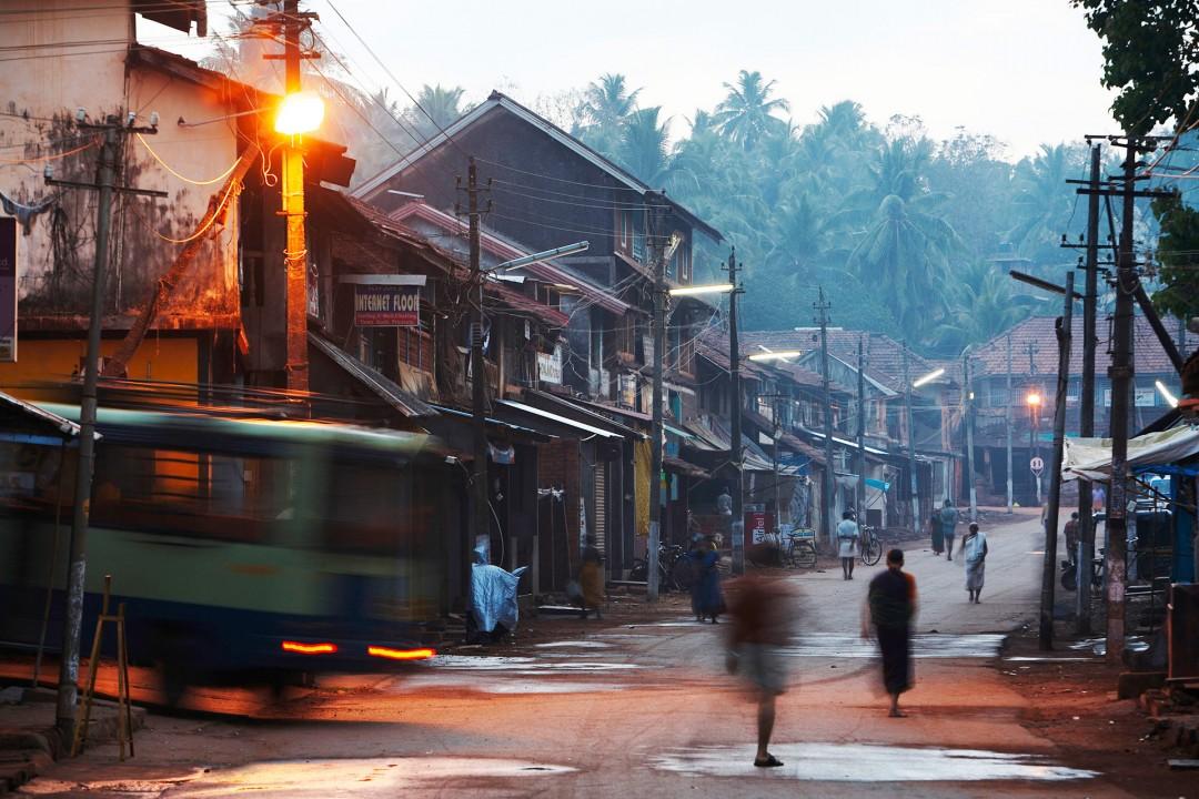 Indien, Karnataka, Gokarna, Car Street, Leben auf der Strasse, Haendler