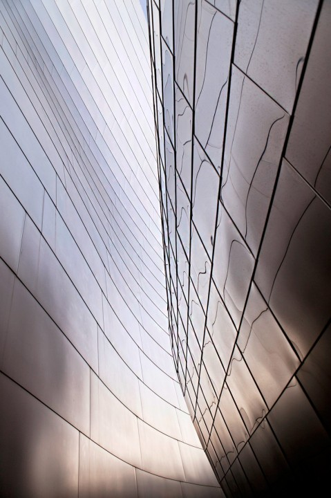 USA, Amerika, United States of America, California, Kalifornien, Los Angeles, Downtown, Walt Disney Concert Hall, Architekt Frank Gehrys, gewellter Stahl, Music Center, Grand Avenue,