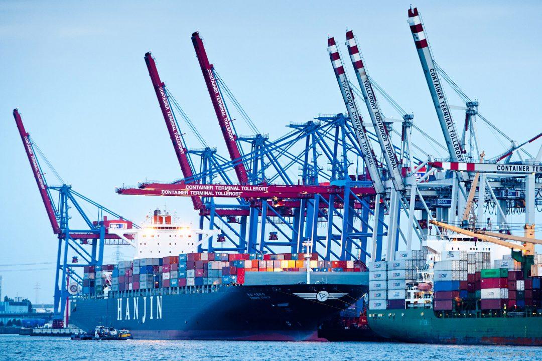 Europa, Deutschland, Hamburg, Containerterminal Tollerort, HHla,