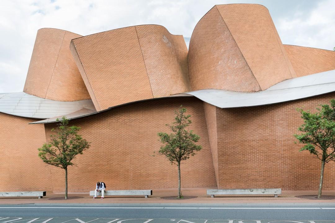 Europa, Deutschland, Nordrhein-Westfalen, Herford Marta, von Frank O. Gehry, Architekt, Kunstausstellungen,