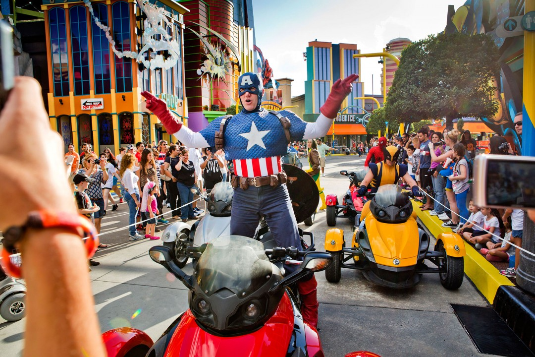 Reise Travel laif_creative USA, Amerika, United States of America, Florida, Orlando, Universal Studios, Resort, Themenpark, MARVEL SUPER HERO ISLAND