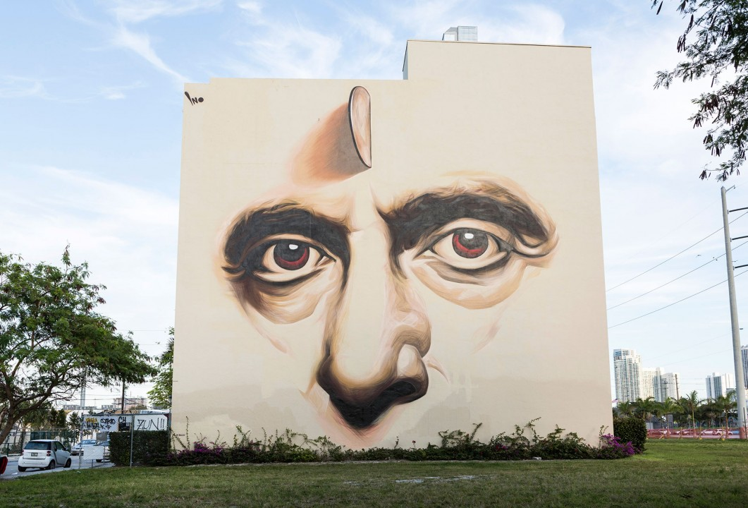 USA, Amerika, United States of America, Florida, Miami, 15. Wynwood Art District: Murals, Galerien, Wandmalereien, Lagerhaeuser, Grafitti, Kunst Szene, Art Scene,