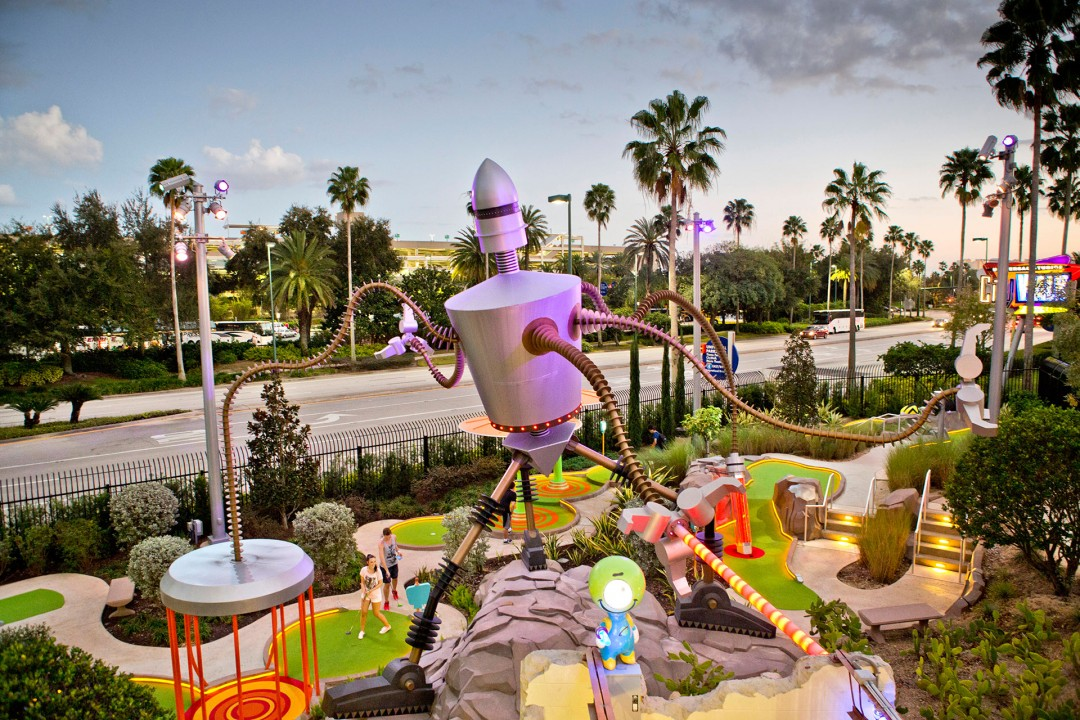 Reise Travel laif_creative USA, Amerika, United States of America, Florida, Orlando, Universal Studios, Resort, Themenpark, Minigolf,