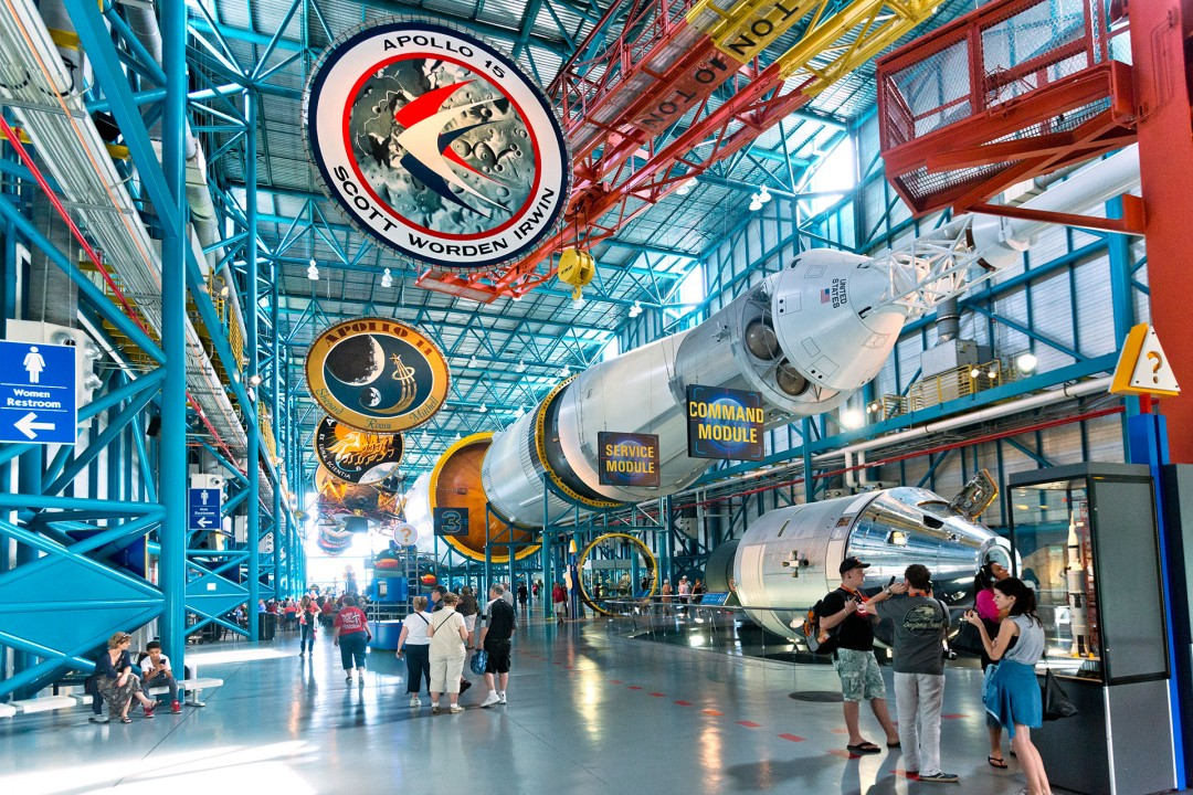 laif creative reise travel USA, Amerika, United States of America, Florida, Cape Canaveral, Spacecoast,  Kennedy Space Center,  Raumfahrt, Nasa, Apollo/ Saturn V Center