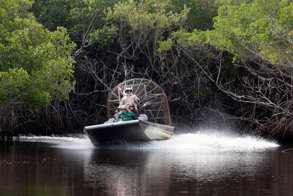 laif creative reise travel USA, Amerika, United States of America, Florida, Everglades city Mangroven, Captain Jack's Airboat Tours,