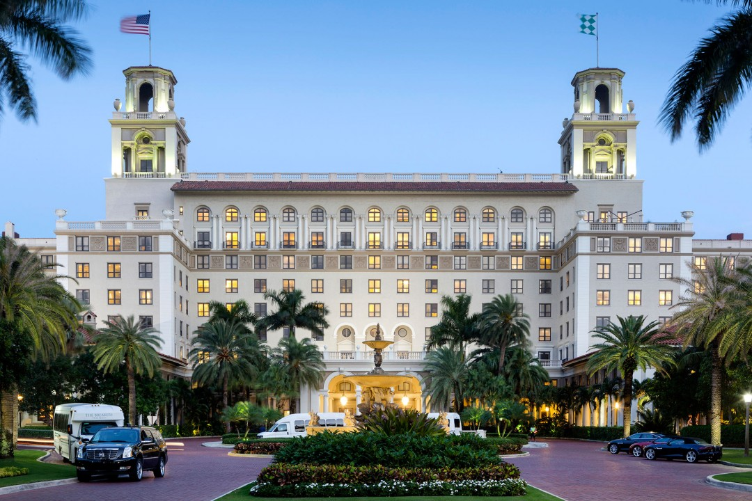 Reise  Travel  laif creative USA  Amerika, United States of America, Florida, Gold Kueste, Gold Coast, West Palm Beach   ,The Breakers, Hotel, Nobel, Golf, Luxus