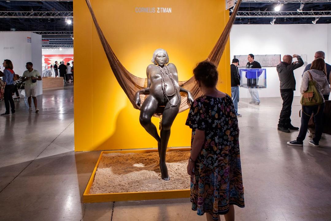 USA, Amerika, Florida, Miami, Miami Beach, Kunstmesse MIA, Convention Center, Kunst, Messe, Kunstszene, Reise, Engl.: Travel, Miami Art Fair