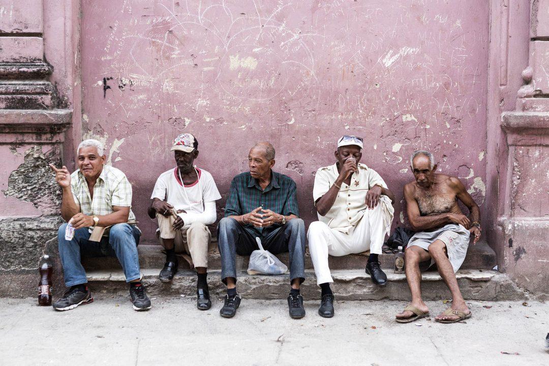 Antillen, Karibik, Cuba, Kuba, Republica de Cuba, Sozialismus, Nordwest Kuba, Havanna, Centro Habana, alte Haeuser, Abend