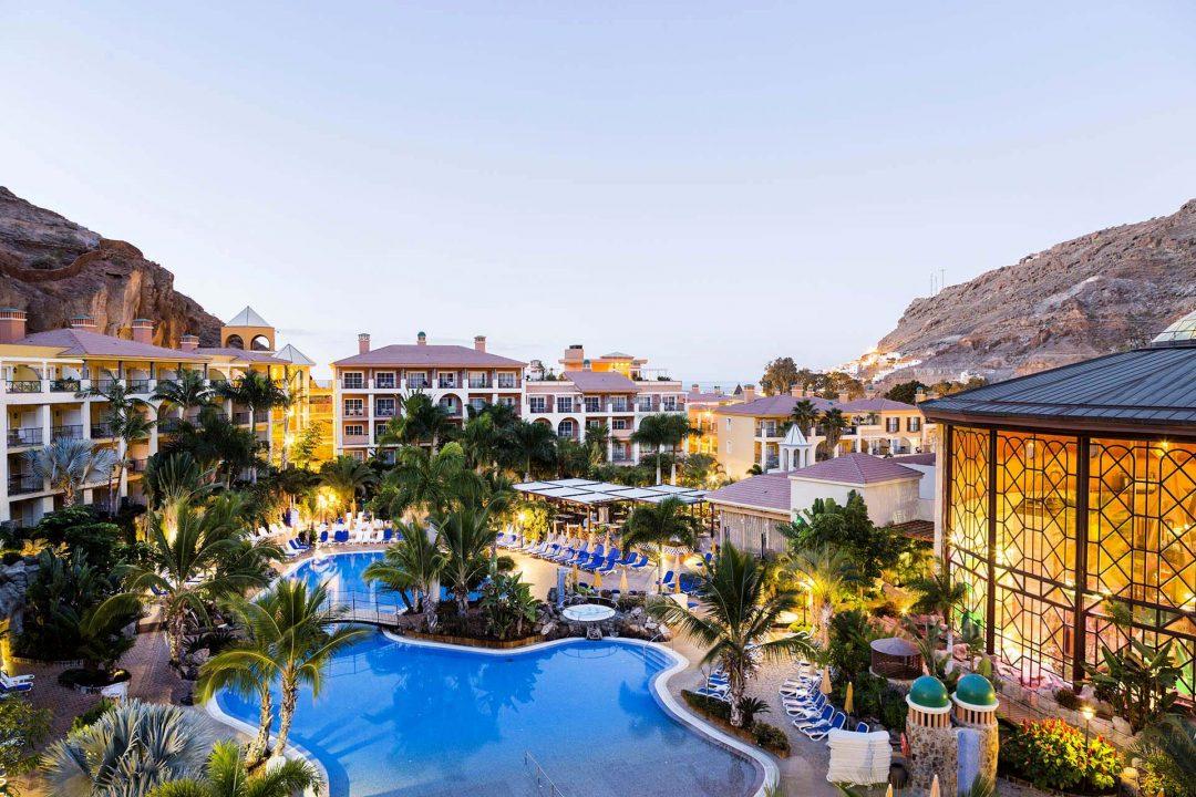 Europa, Spanien, Kanarische Inseln, Canary Island, Gran Canaria, Avenida Los Marrero 2, 35138 Playa de Mogán, Las Palmas, España, Restaurant Los Guyares, im Hotel Cordial Mogan Playa,