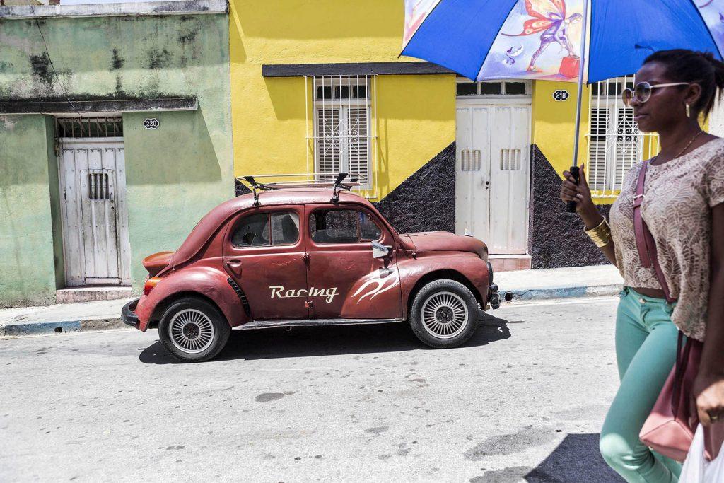 Antillen, Karibik, Cuba, Kuba, Republica de Cuba, Sozialismus, Santiago de Cuba, Altstadt suedlich vom Parque Cespedes,