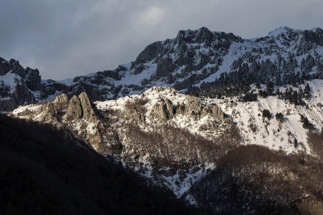 Montenegro, Balkan, Berge bei Kolasin