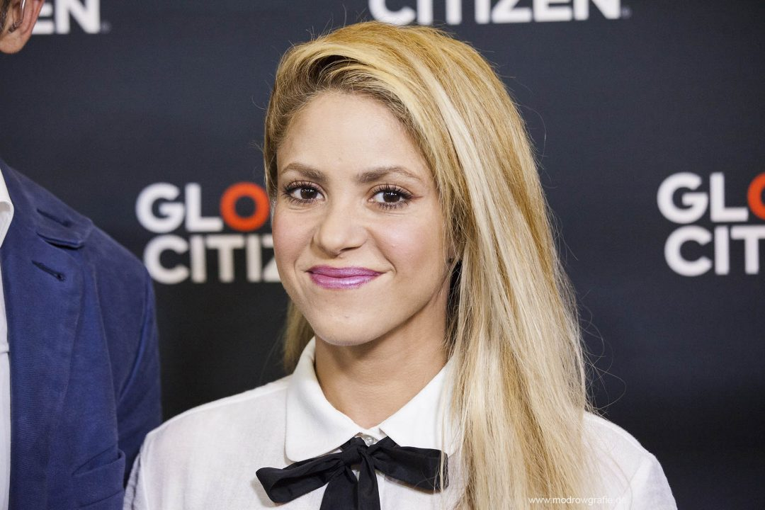 Germany, Hamburg, Barcley Card Arena, Volkspark, Concert,  Global Citizen Festival on 06.07.2017, the night before G20 Summit, in the Barclaycard Arena in Hamburg. The performing artists Shakira,  The festival is organized by the social action platform Global Citizen.