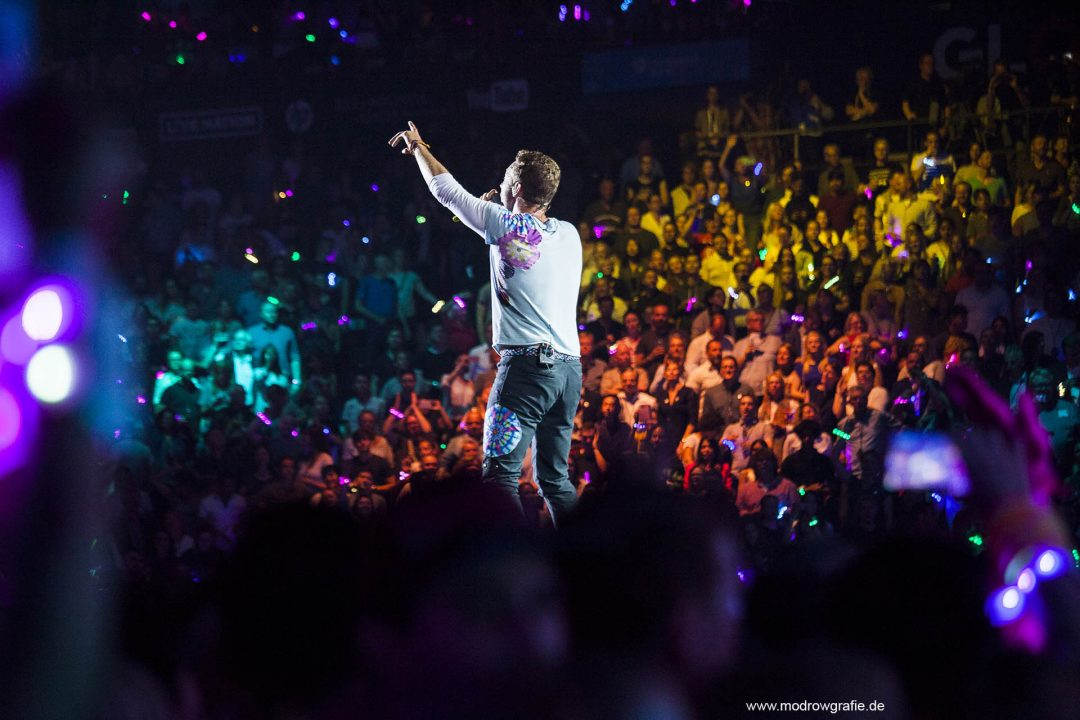 Global Citizen Festival on 06.07.2017, the night before G20 Summit, in the Barclaycard Arena in Hamburg. The performing artists are Coldplay with Shakira, Ellie Goulding, Pharrell Williams, Andreas Bourani, Herbert Grönemeyer and more. The festival is organized by the social action platform Global Citizen.