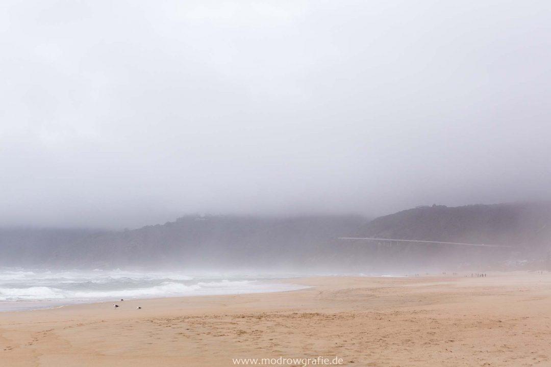 Suedafrika, Afrika, Garden Route, Wilderness Strand, Nebel, Reise, Landschaft, Kueste, Engl: Southafrica, Western Cape,  Landscape, Gardenroute, Travel, Fog,