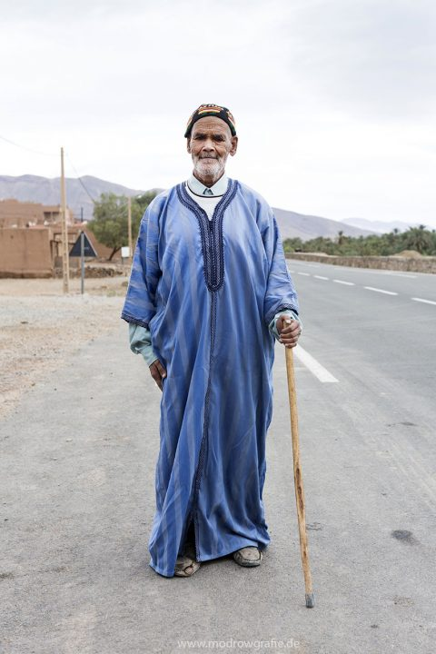 Koenigreich Marokko, High Atlas, Draa Valley, Oulad Othmane Kasbah, Oase,