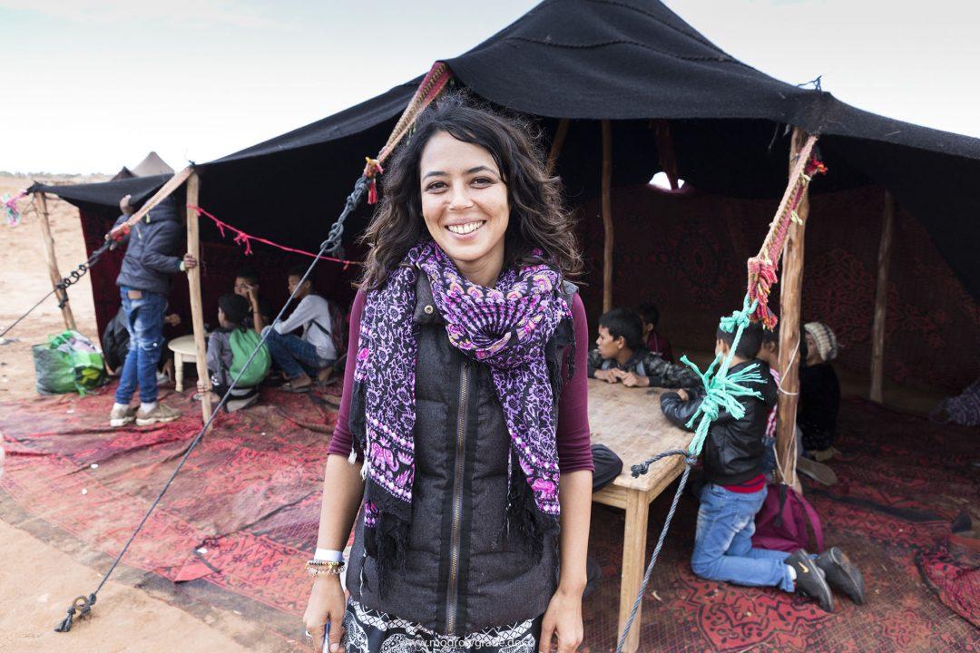 Koenigreich Marokko, Sahara, M'Hamid El Ghizlane, Draa Valley,  Wueste, Duenen, Sand, Taragalte Festival, 2018, Berber Musik, Fest, Party, Zeltlager, Lifemusik, engl: Music Festival, Sand Dunes, Sahara, desert, Berber Music, Tents, Workshops