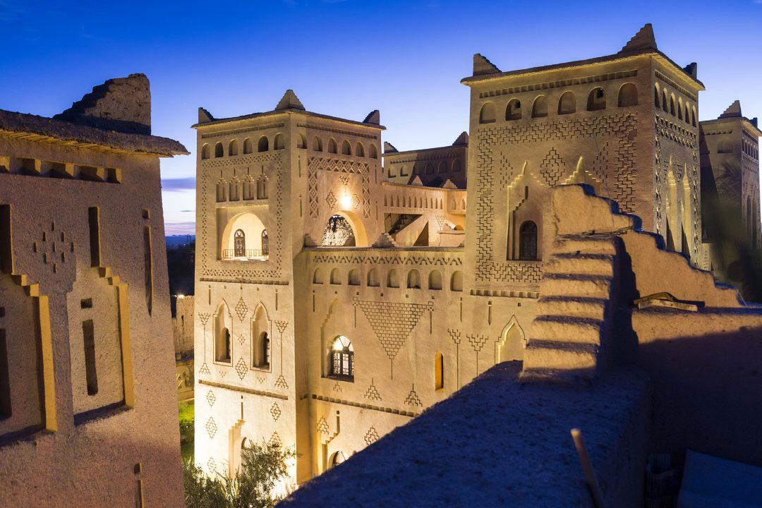 Koenigreich Marokko, Atlas Gebirge, Dades Valley, Skoura, Oase, Kashbah Hotel, Ksar Elkab Baba, Spa,
