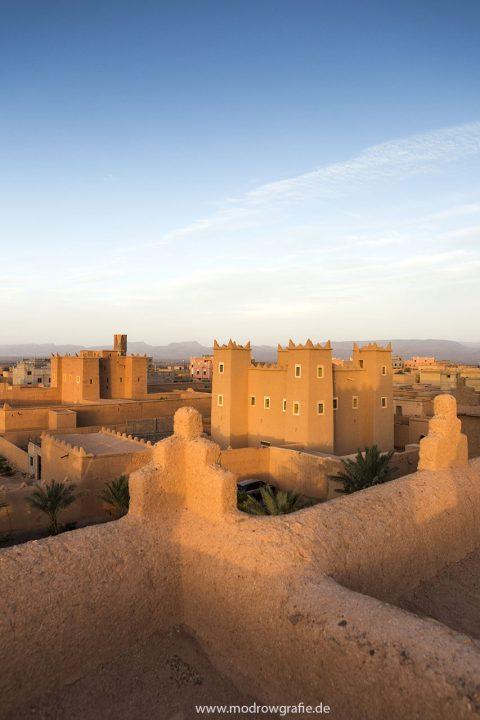 Koenigreich Marokko, Atlas Gebirge, Nkoub, Kashbah, Baha Baha, Oase