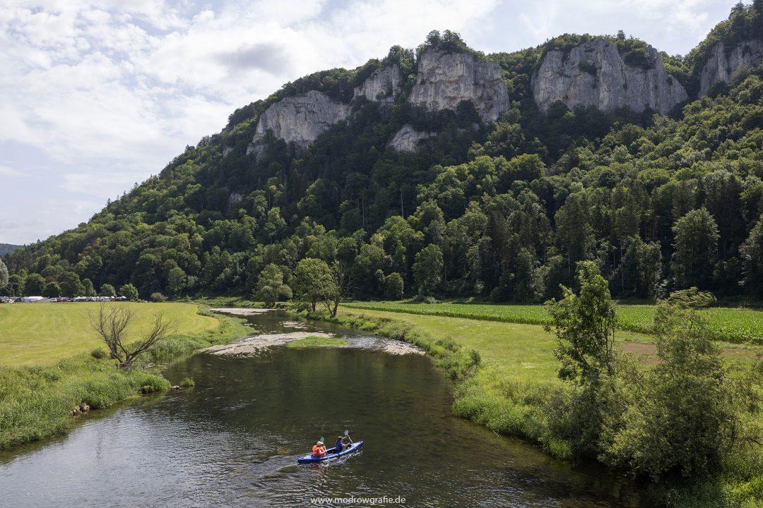 Europa, Deutschland, Donau, Baden-Wuerttemberg, 8. Naturpark Obere Donau,bei Hausen,