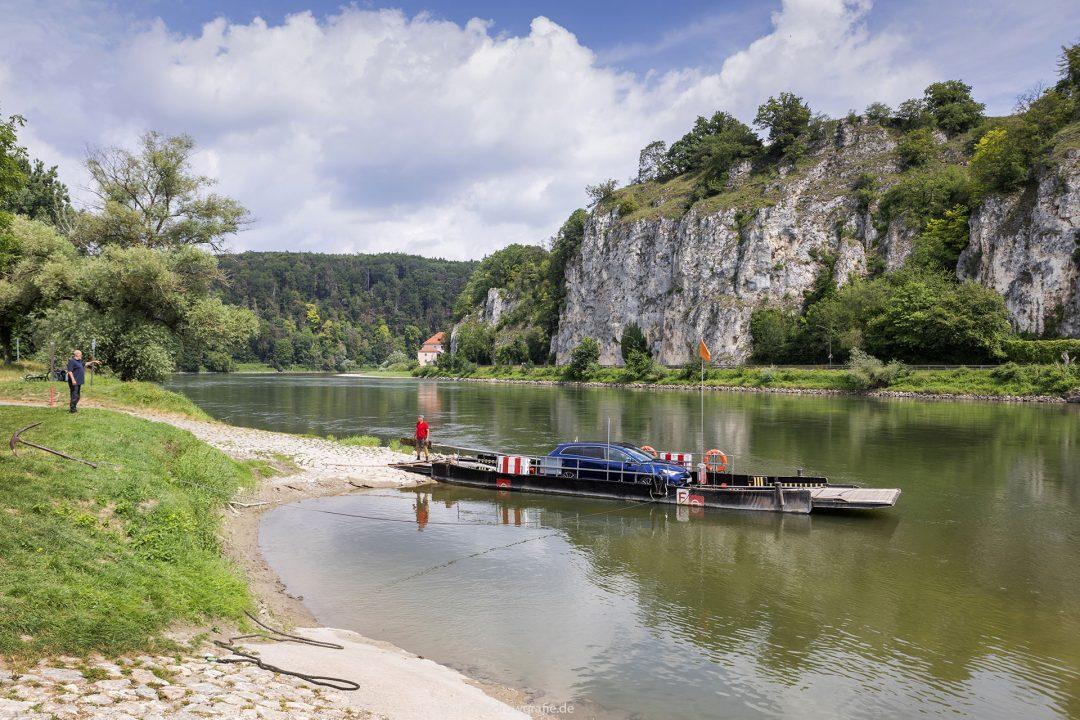 Europa, Deutschland, Donau, Bayern, Kehlheim, Beginn Donaudurchbruch (